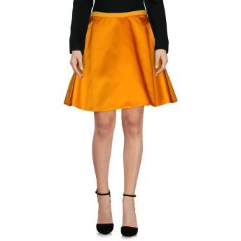 《セール開催中》ACNE STUDIOS レディース ひざ丈スカート オレンジ 34 ナイロン 98% / ポリウレタン 2%