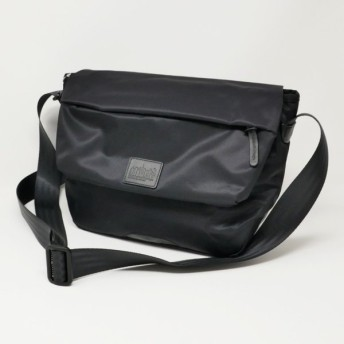 Manhattan Portage BLACK LABEL /マンハッタンポーテージブラックレーベル TWILL MESEROLE MESSRNGER BAG MP1616TWLBL ブラック メッセンジャーバッグ
