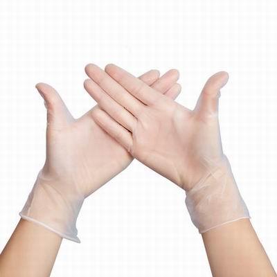 【一次性PVC手套-100只1盒-2盒1組】乳膠薄實驗勞保手套無粉防滑食品級-586035