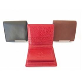 【黒】革製品シェイクパース(財布)