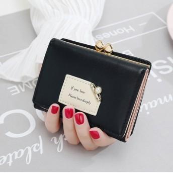 韓国ファッション 二つ折り財布 超軽い財布 薄い財布 財布 レディース 二つ折り 財布 小銭入れ コインケース カードケース 多機能 短財布 小銭入れあり ミニ財布 レディース