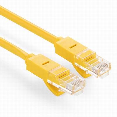 【超五類百兆網線-26AWG銅包鋁-8米-2條1組】雙絞線純銅鍍金觸點寬頻線RJ45介面(長可訂)-586062