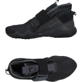 《セール開催中》NIKE メンズ スニーカー&テニスシューズ(ハイカット) ブラック 7.5 紡績繊維 / 革
