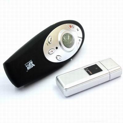 【滑鼠PPT翻頁筆+2GU盤-YS095-紅光-遙15光200米-1款】遙控投影超連結演示筆(無電池)-586060