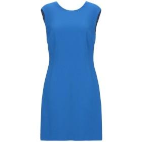 《期間限定セール開催中!》VERSACE レディース ミニワンピース&ドレス ブルー 44 97% レーヨン 3% ポリウレタン