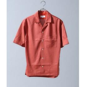 ABAHOUSE / アバハウス テンセルジャージーオープンカラーシャツ