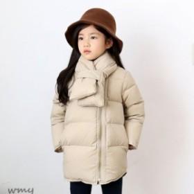 3acb462ac3b5e コートアウター 韓国子供服 女の子 ベージュ トップス 秋冬着 ブラック 防寒 厚手 キッズ ジャケット ジャンパー