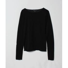 アニエスベー J309 TS Tシャツ レディース ブラック 2 【agnes b.】