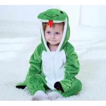 へび着ぐるみ グリーン 子ども着ぐるみ クリスマス コスプレ 子供 クリスマス コスプレ ベビー クリスマス 衣装 キッズ