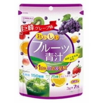 ユーワ おいしいフルーツ青汁1日分の鉄&葉酸(3g×7包)