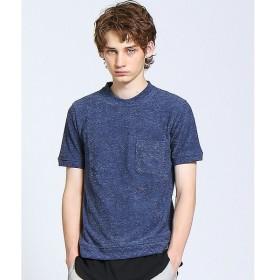 ABAHOUSE / アバハウス パイルポケットTシャツ