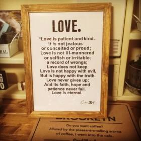 「愛」にまつわる聖書の言葉