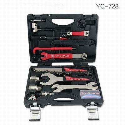 【18合一自行車工具箱套裝-YC-728-1套1組】單車修車修理工具組騎行裝備小巧便攜-527058