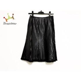 ルネ Rene スカート サイズ36 S レディース 美品 黒×ダークグレー       スペシャル特価 20191007