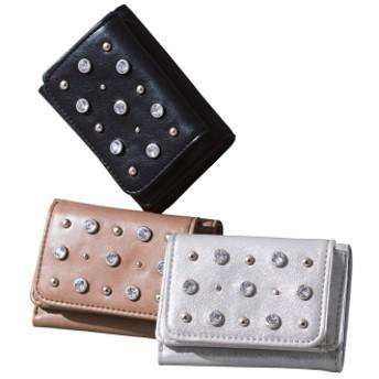 CONTROL FREAK/コントロールフリーク きらきらミニ財布シルバー