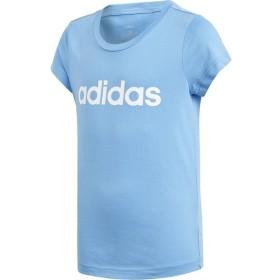 【2点までメール便送料無料】アディダス G CORE リニアロゴ Tシャツ ガールズ ジュニア FTM92-DV0362