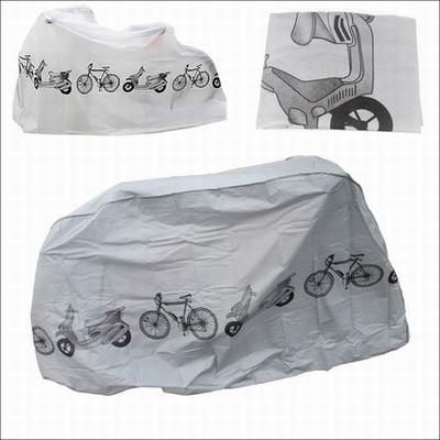 【自行車防塵罩-滌綸-100x210cm-1套1組】山地公路自行車摩托車電動車單車防塵防雨罩罩-527058