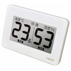 CRECER・超大画面デジタル温湿度計・CR-3000W