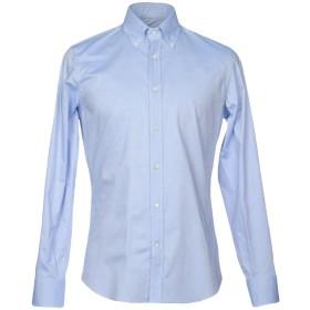 《期間限定 セール開催中》BALLANTYNE メンズ シャツ スカイブルー 39 コットン 100%