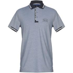 《セール開催中》IMPULSO メンズ ポロシャツ ブルーグレー 50 コットン 50% / ポリエステル 50%