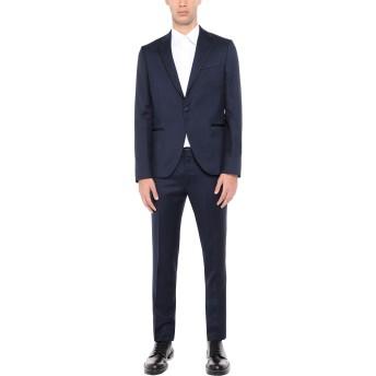 《セール開催中》ALESSANDRO DELL'ACQUA メンズ スーツ ダークブルー 50 バージンウール 100%
