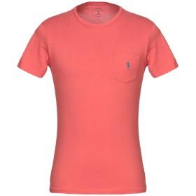 《期間限定セール開催中!》POLO RALPH LAUREN メンズ T シャツ レッド S コットン 100%