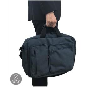 バッグ ビジネス メンズ ポケットデザイン2WAY A4対応  ニッセン