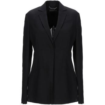 《セール開催中》VERSACE レディース テーラードジャケット ブラック 38 バージンウール 85% / ナイロン 15% / ポリエチレン