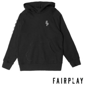 【FAIRPLAY BRAND/フェアプレイブランド】KAS パーカー / BLACK