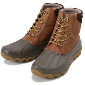 【SPERRY TOPSIDER】 スペリートップサイダー AVENUE DUCK BOOTS アベニューダックブーツ STS12126 TAN/BROWN