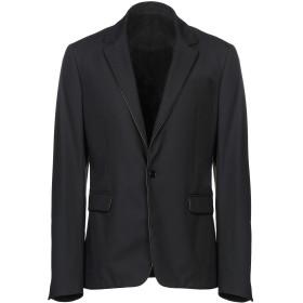 《期間限定セール開催中!》VERSACE COLLECTION メンズ テーラードジャケット ブラック 52 ナイロン 91% / ポリウレタン 9% / ポリエステル