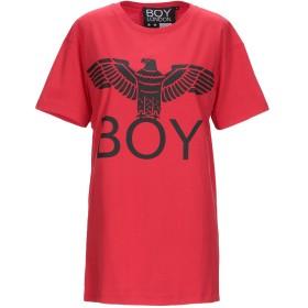 《期間限定セール開催中!》BOY LONDON レディース T シャツ レッド M 100% コットン