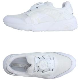 《セール開催中》PUMA メンズ スニーカー&テニスシューズ(ローカット) ホワイト 3.5 紡績繊維