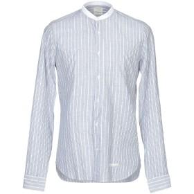 《期間限定 セール開催中》TINTORIA MATTEI 954 メンズ シャツ ダークブルー 39 コットン 100%