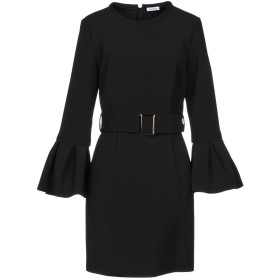 《セール開催中》P.A.R.O.S.H. レディース ミニワンピース&ドレス ブラック M ポリエステル 92% / ポリウレタン 8%