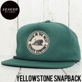 SEAGER シーガー YELLOWSTONE SNAPBACK CAP スナップバックキャップ FOREST