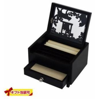 【ラッピング無料!2】黒猫アクセサリーボックス( 黒猫シリーズ )G-1481BK くろねこ 黒ねこ 雑貨 猫 CAT キャット かわいい おしゃれ