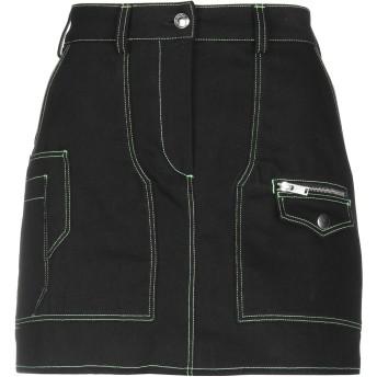 《セール開催中》COURREGES レディース デニムスカート ブラック 34 コットン 100%