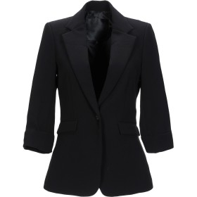 《期間限定 セール開催中》PHILIPP PLEIN レディース テーラードジャケット ブラック S ポリエステル 95% / ポリウレタン 5%