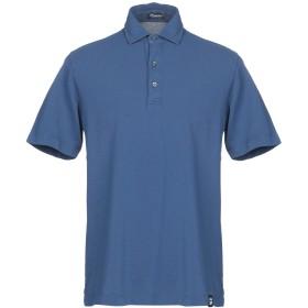 《期間限定セール開催中!》DRUMOHR メンズ ポロシャツ ブルーグレー S コットン 100%