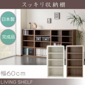 スッキリ収納 棚 シンプル 壁面収納 北欧 日本製 送料無料