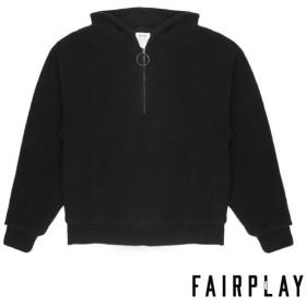 【FAIRPLAY BRAND/フェアプレイブランド】MON パーカー / BLACK