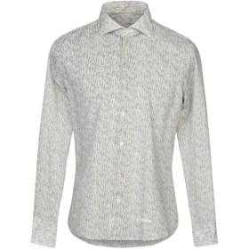 《セール開催中》TINTORIA MATTEI 954 メンズ シャツ ミリタリーグリーン 39 コットン 100%