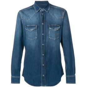 Dolce & Gabbana ウエスタン デニムシャツ - ブルー