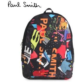 ポールスミス バックパック リュック メンズ レディース Paul Smith BACKPACK ブラック M1A 5269 A40035