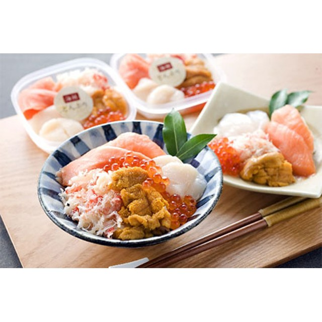 海鮮丼の具