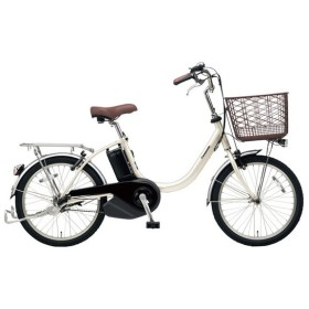 PANASONIC BE-ELL03-S ウォームシルバー ビビ・L・20 [電動アシスト自転車(20インチ)] 電動自転車