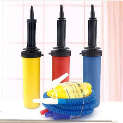 【手推式-腳踏式打氣筒-兩款可選-3個】鋁膜氣球打氣筒手推充氣腳踩充氣(可混搭)-7201015