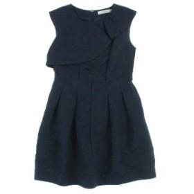 THE DRESS BY FLICKA / ザドレスバイフリッカ レディース ワンピース 色:黒系x紺系(総柄) サイズ:0(XS位)