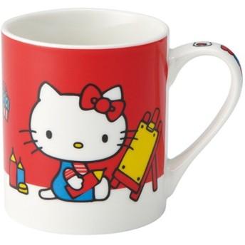 マグカップ 240ml ハローキティ 陶器 マグ カップ コップ サンリオ キャラクター ( 食洗機対応 電子レンジ対応 食器 キティちゃん )